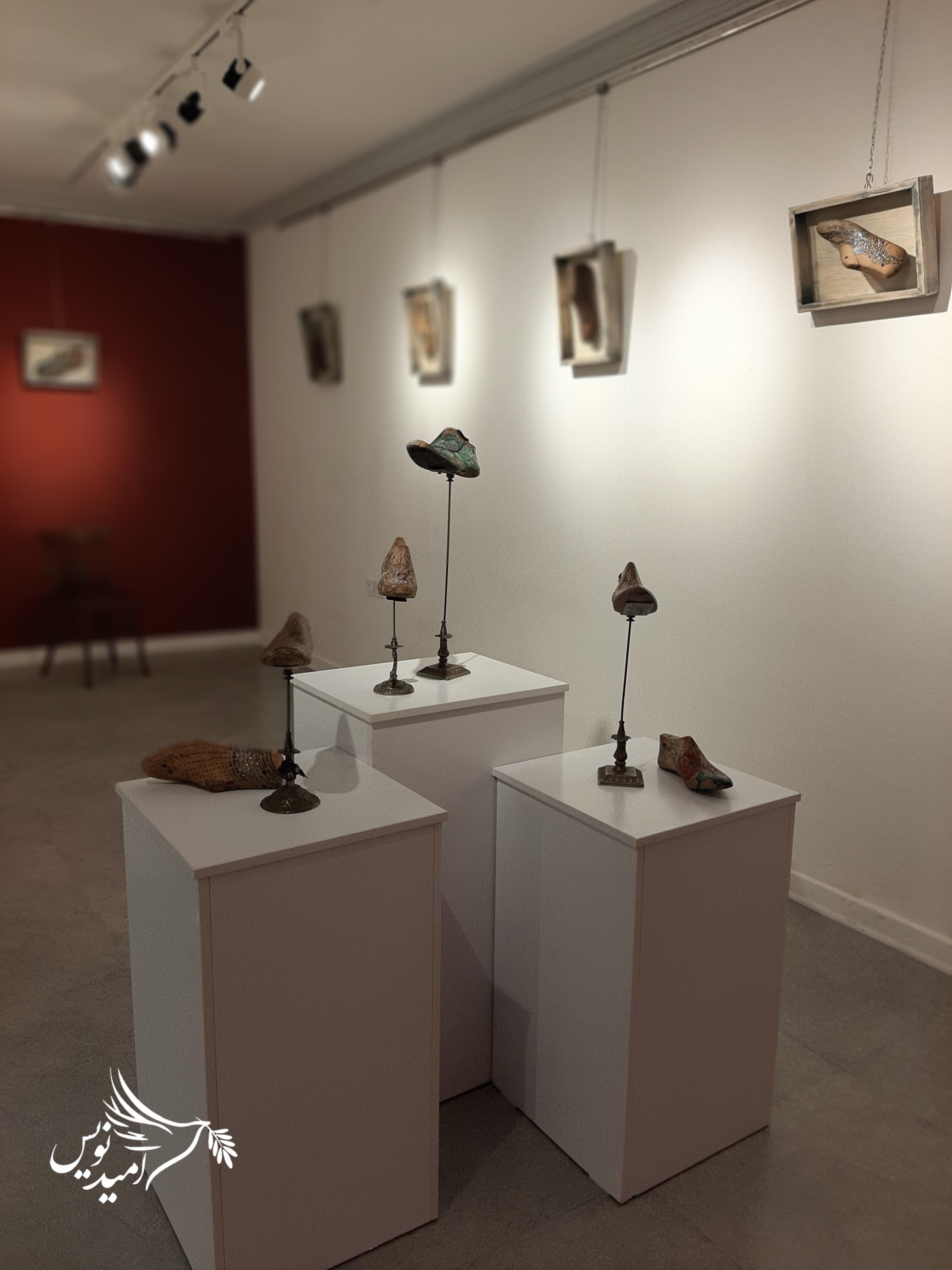 """نمایشگاه نقاشی """"سی دار"""" در رشت افتتاح گردید/گزارش تصویری"""