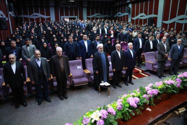 دکتر روحانی:اگر کسی بخواهد به نمایندگی از ملت صحبت کند رییس جمهور است