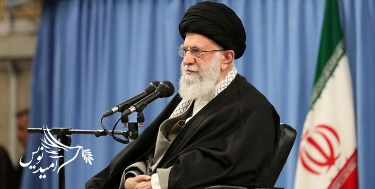 رهبر انقلاب: به روح سردار سلیمانی تعظیم میکنم
