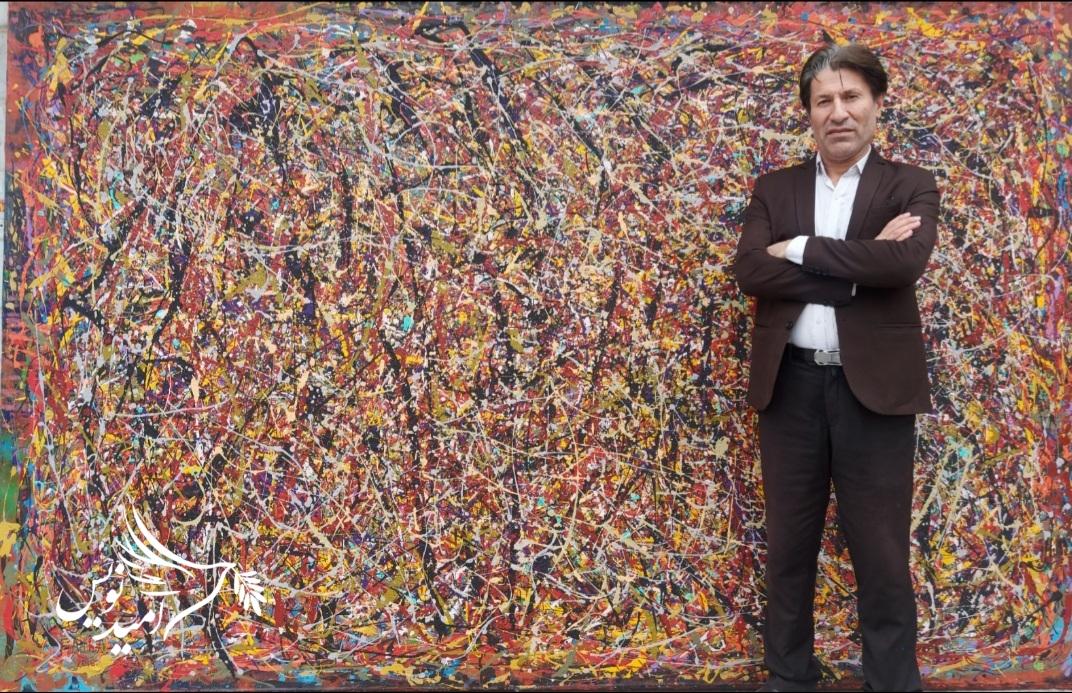 نگاهی با آثار فریدالله ادیب آیین ؛ نقاش برجسته افغانستان